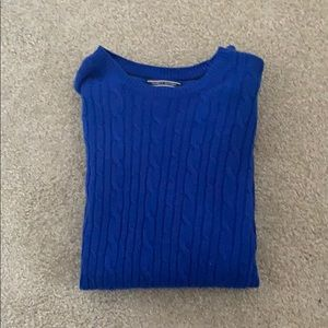 Vibrant Blue Tommy Hilfiger Sweater